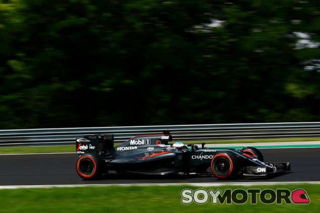 Alonso en el GP de Hungría - SoyMotor