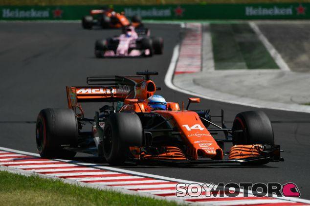 McLaren en el GP de Hungría F1 2017: Domingo  - SoyMotor.com