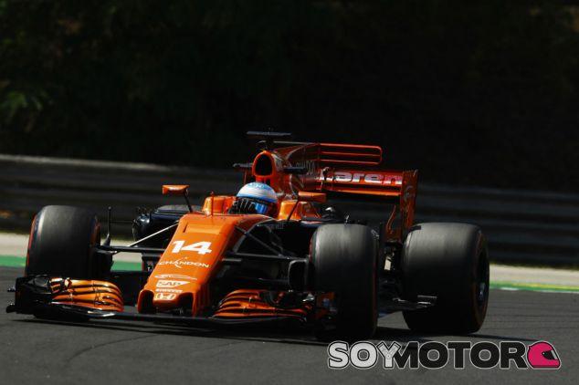 McLaren en el GP de Hungría F1 2017: Viernes - SoyMotor.com