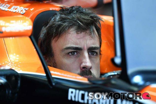 Fernando Alonso en Rusia - SoyMotor