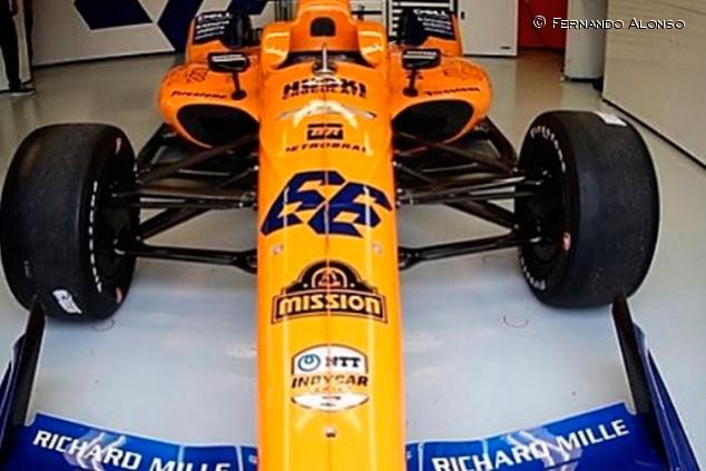 Alonso y McLaren ya están en Indianápolis: semana de entrenamientos - SoyMotor,com