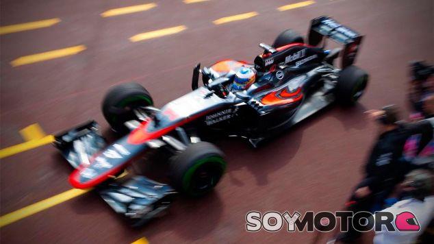 Fernando Alonso en el Gran Premio de Mónaco - LaF1