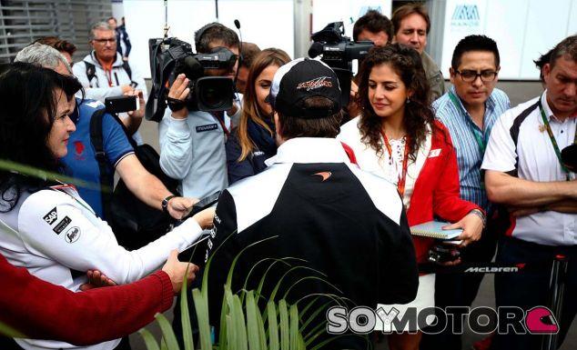 Fernando Alonso en México - LaF1