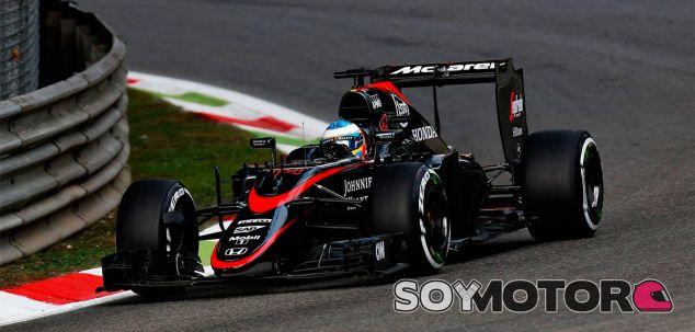 Fernando Alonso en el Gran Premio de Italia - LaF1