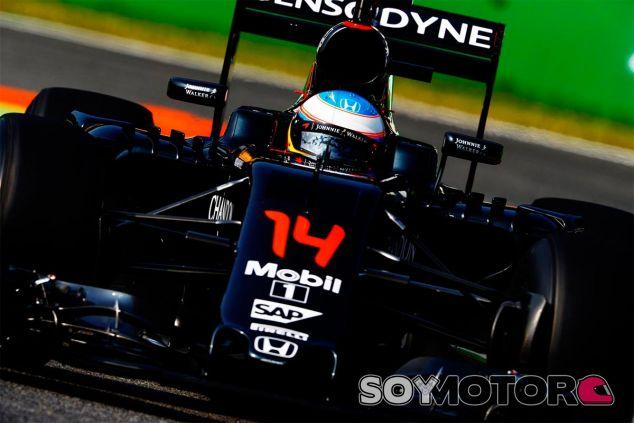 Fernando Alonso en Monza - LaF1