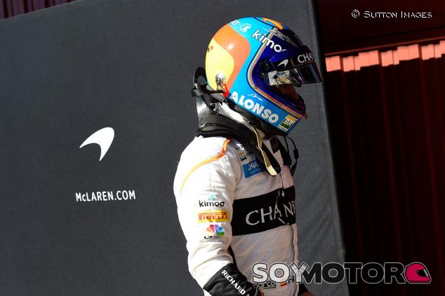 Fernando Alonso, hoy en el Circuit de Barcelona-Catalunya - SoyMotor
