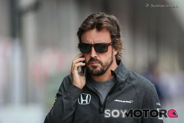 Fernando Alonso en Silverstone - SoyMotor
