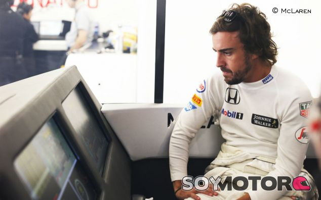 Fernando Alonso en el Gran Premio de Bélgica - LaF1