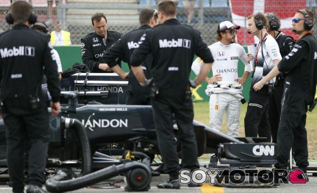 Fernando Alonso en una imagen de archivo de Alemania - LaF1