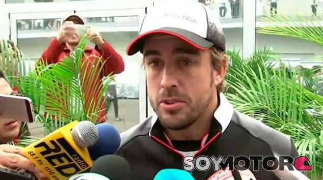 Alonso, tras la segunda sesión de libres en México - LaF1