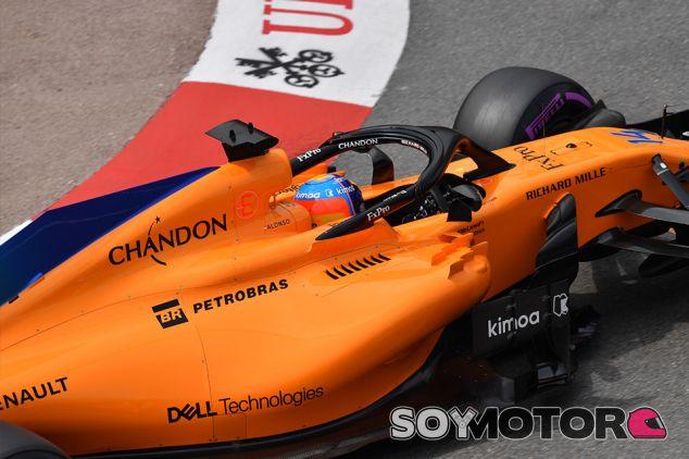 Fernando Alonso en Mónaco - SoyMotor.com