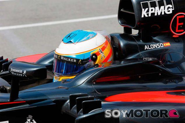 Fernando Alonso, ayer en Canadá - LaF1