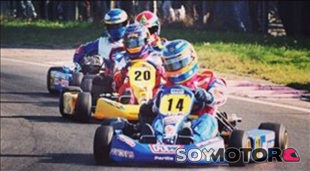 Hoy hace 20 años que Fernando Alonso ganó el Mundial de Karting - LaF1