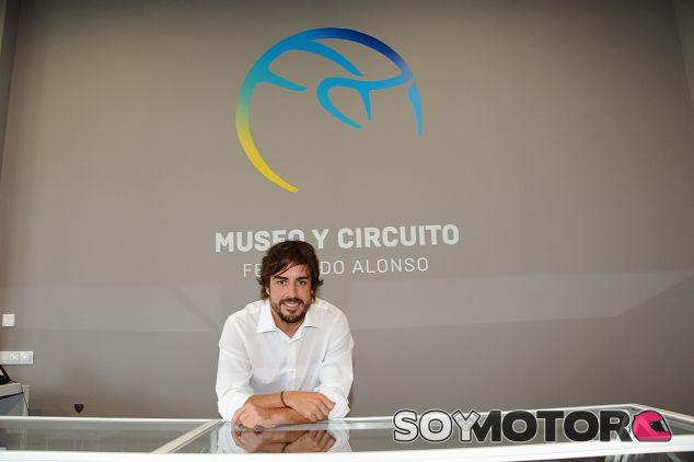 Fernando Alonso, hoy en Asturias - LaF1