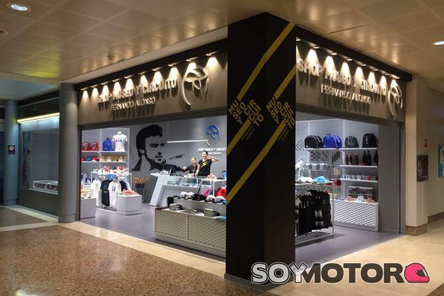 Imagen de la tienda de Alonso - LaF1