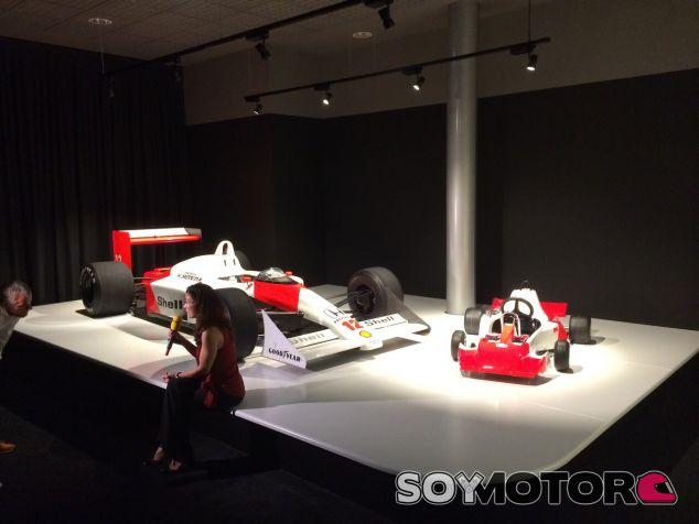 """Alonso inaugura su nuevo museo: """"Esto no es mío, es de todo un país"""""""