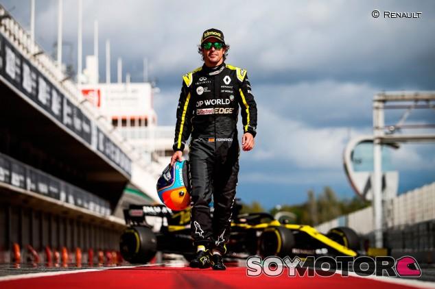 El regreso de Alonso no distraerá a Renault, el objetivo es 2022 - SoyMotor.com