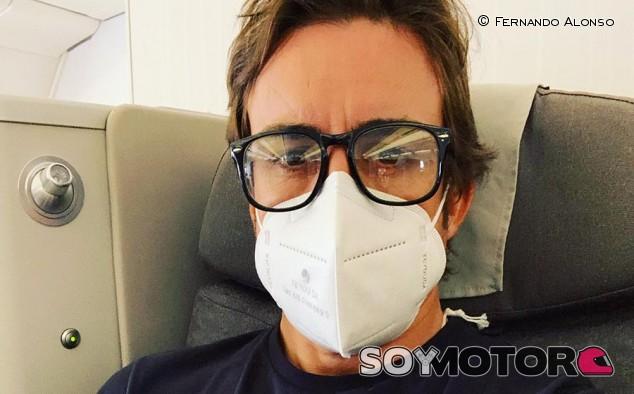 Fernando Alonso pone rumbo hacia Indianápolis - SoyMotor.com