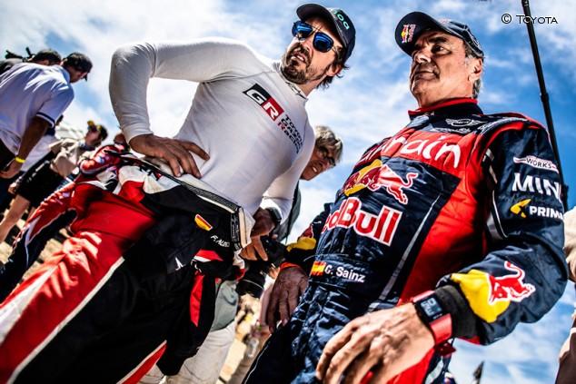 """Sainz: """"Me apetece mucho el Dakar con Alonso, nos vamos a reír"""" - SoyMotor.com"""