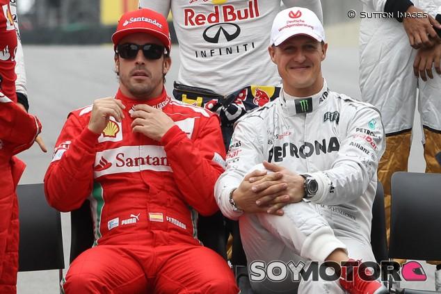 Schumacher y Alonso: la fina línea entre un gran campeón y una estrella - SoyMotor.com