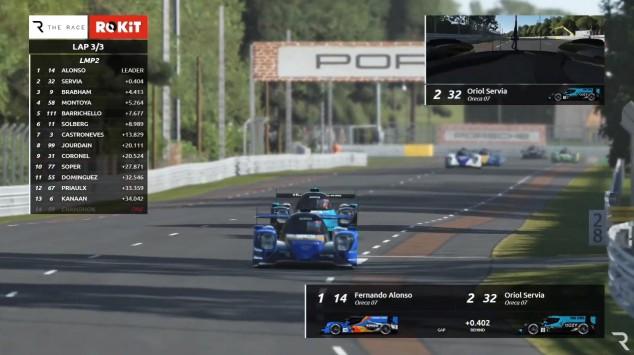 Montoya se lleva la Triple Corona Virtual; Alonso, victoria y abandono en Le Mans - SoyMotor.com