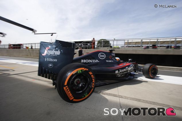 Fernando Alonso en el McLaren-Honda - LaF1.es