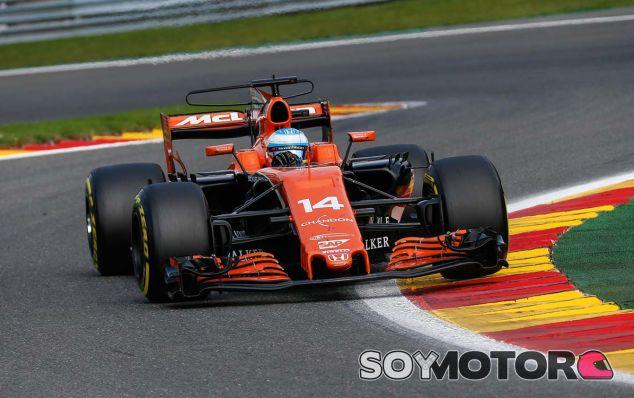 Fernando Alonso en Spa - SoyMotor.com