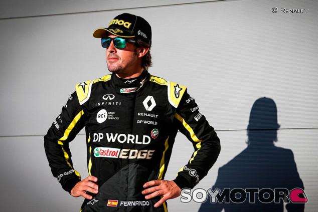 OFICIAL: Renault confirma a Alonso para el test de Abu Dabi - SoyMotor.com