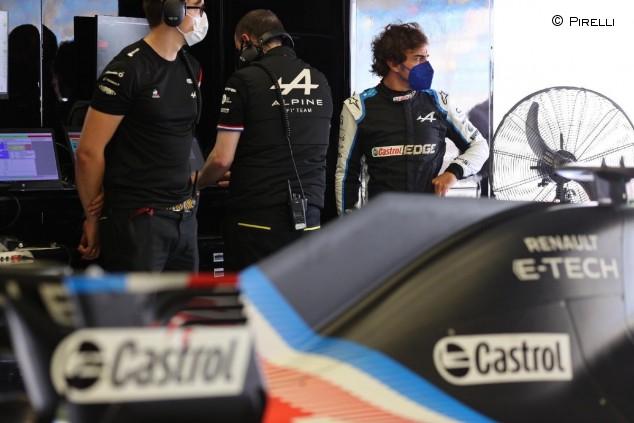 Alonso prueba los neumáticos de 18 pulgadas en Baréin - SoyMotor.com