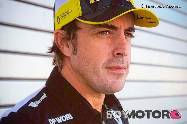 Fernando Alonso puede probar el Renault de 2020 en Abu Dabi  - SoyMotor.com