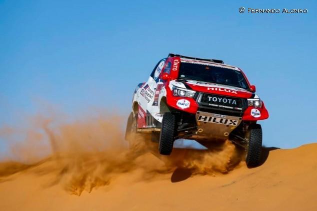 Alonso supera con creces sus objetivos más optimistas del Dakar - SoyMotor.com