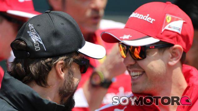 Fernando Alonso y Sebastian Vettel - LaF1.es