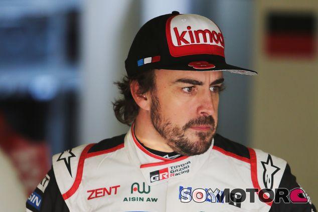 Fernando Alonso en Le Mans - SoyMotor