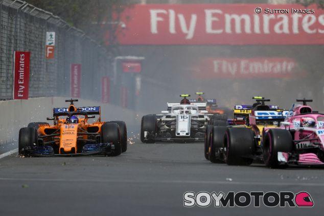 Adelantamientos en el GP de Azerbaiyán de 2018 - SoyMotor.com