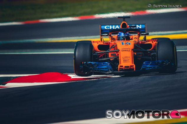 Fernando Alonso en Barcelona – SoyMotor.com