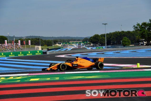 Fernando Alonso en Paul Ricard – SoyMotor.com