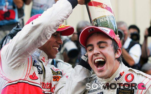 "Fernando Alonso: ""Nunca tuve problema con Lewis Hamilton"""