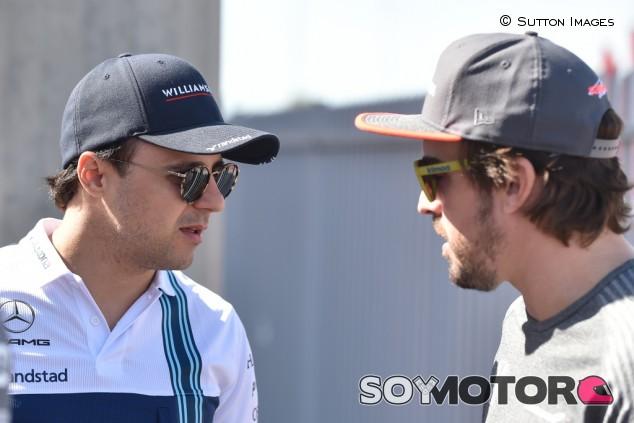 """Massa: """"Será genial ver a Alonso en el Dakar, pero yo no lo haría"""" - SoyMotor.com"""