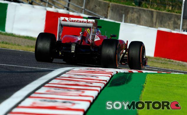 Fernando Alonso durante la clasificación del GP de Japón F1 2013 - LaF1