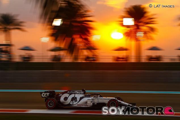 AlphaTauri en el GP de Abu Dabi F1 2020: Sábado - SoyMotor.com
