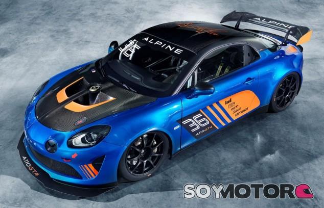 Alpine A110 GT4 -Soymotor.com