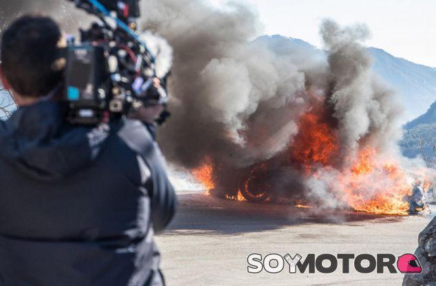 Top Gear, o cómo escapar de un Alpine en llamas - SoyMotor.com
