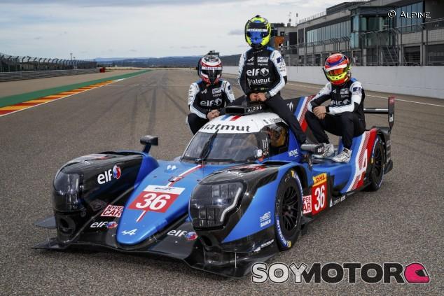 Equipo de Alpine para Le Mans - SoyMotor.com