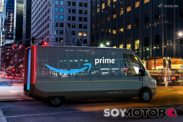 Amazon compra 100.000 furgonetas eléctricas Rivian en busca de las emisiones cero - SoyMotor.com