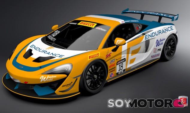 McLaren 570 GT4 - SoyMotor.com