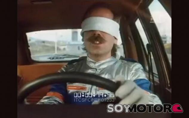 El día que el padre de Andy Soucek condujo con los ojos vendados - SoyMotor
