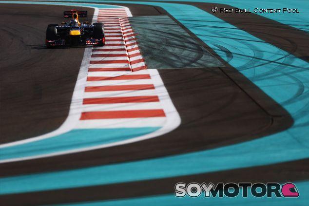 Sebastian Vettel en el Yas Marina, sede del Gran Premio de Abu Dabi - LaF1