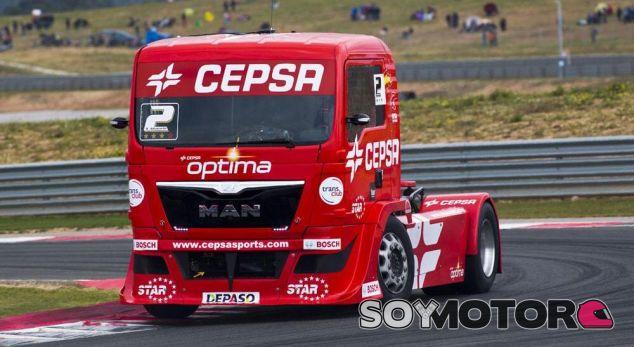 Antonio Albacete vuelve al Europeo de camiones con Man - SoyMotor.com