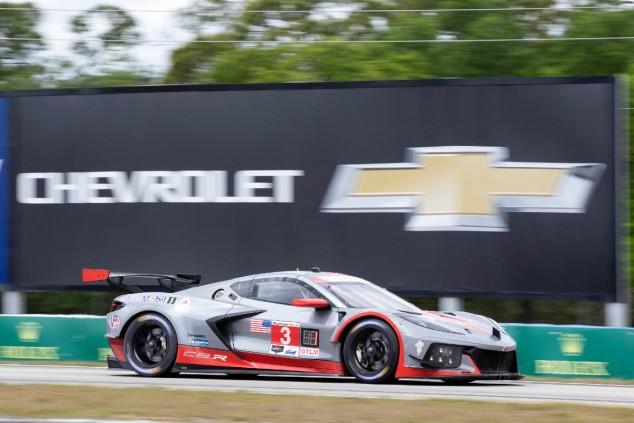 El Corvette #3 de Antonio García en las 12 Horas de Sebring - SoyMotor.com