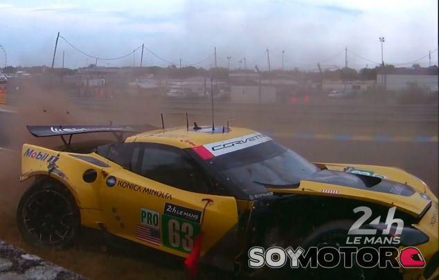 El accidente ha sido causado por un fallo mecánico y ha ocurrido cuando Jan Magnussen estaba al volante - LaF1